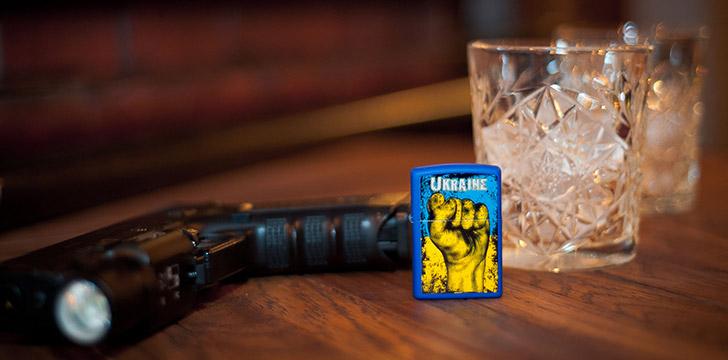 Купить зажигалку Zippo в Украине
