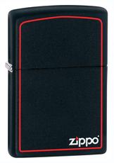 Zippo BLACK MATTE w / ZIPPO BORDER - 632 грн.
