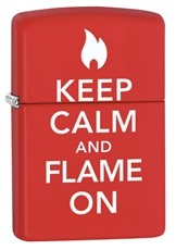 Keep Calm Flame on