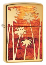 254B Fuzion Palm Tree Sunset