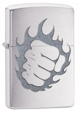 Запальничка Zippo 200 Tattoo Fire and Fist