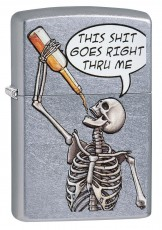 207 Drinking Skeleton Design