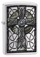 Запальничка Zippo 200 Сeltic Cross Design