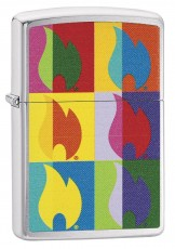 Запальничка Zippo 200 Abstract Flame Design
