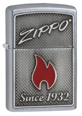 207 Zippo and Flame