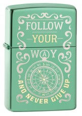 Зажигалка  ZIPPO 28129 Follow Your Way Design